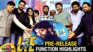 LIE Telugu Movie Pre Release Function HIGHLIGHTS | Nitin | Megha Akash | Hanu Raghavapudi - MANGOVIDEOS
