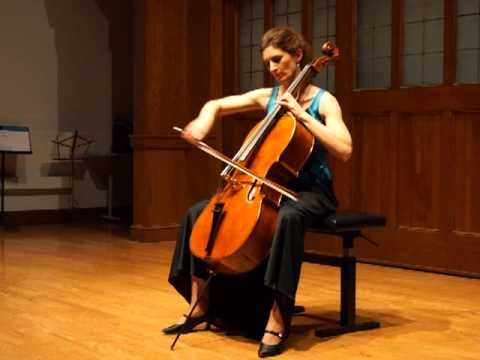 Natasha Farny plays Bach Cello Suite in D minor