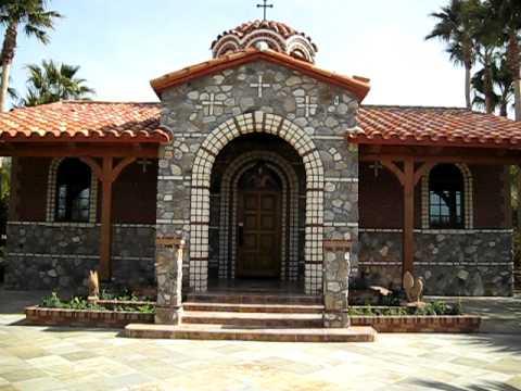 Ιερά Μονή Αγίου Αντωνίου - Αριζόνα - St Anthony Monastery 1/12