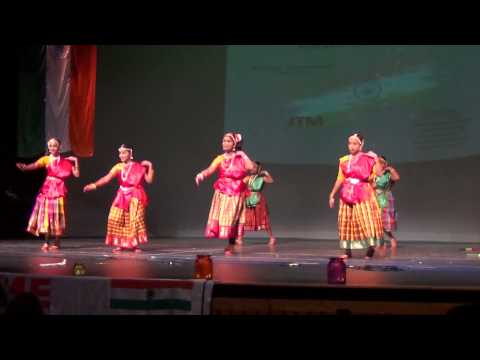 Kurathi Nadanam at JAX ICS Republic Day Event 2014