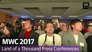 MWC 2017: Land of a Thousand Press Conferences - ENGADGET