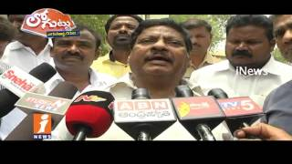 Why Chittoor District TDP Leader Fires On CM Chandrababu? | Loguttu | News - INEWS