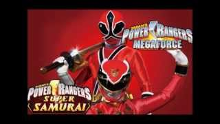 Power Rangers Megaforce vs Power Rangers Samurai Fan-made Team-up Morph