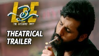 #LIE Movie Theatrical Trailer - Nithiin, Arjun, Megha Akash   Hanu Raghavapudi - 14REELS