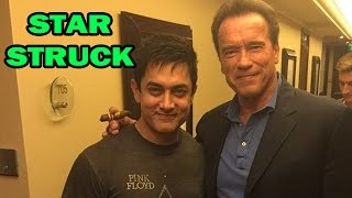 Aamir Khan met Hollywood star Arnold Schwarzenegger in Delhi -  Bollywood News