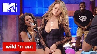 Chrissy Teigan Gets Touchy Feely For Michael Strahan 'Bad & Booty-est Moments'   Wild 'N Out   MTV - MTV