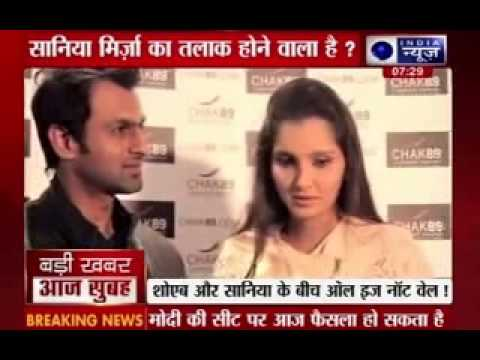 Is Sania Mirza-Shoib Malik's marriage in trouble?
