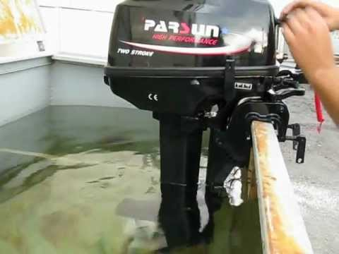 обкатка новых лодочных моторов hdx