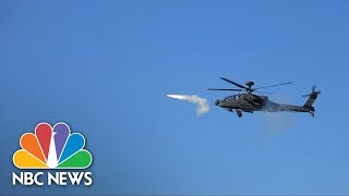 South Korea Conducts First Stinger Air-To-Air Missile Tests In Live-Fire Drill | NBC News - NBCNEWS