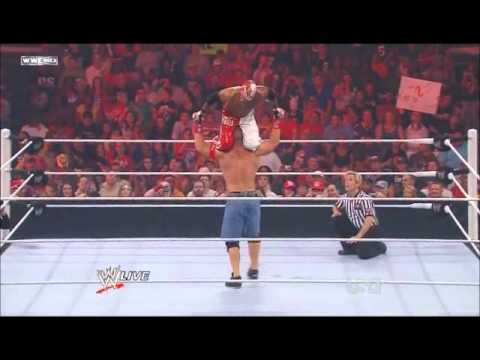 WWE Monday Night Raw 2011/07/25 : WWE Championship Match John Cena vs Rey Mysterio [PART1]