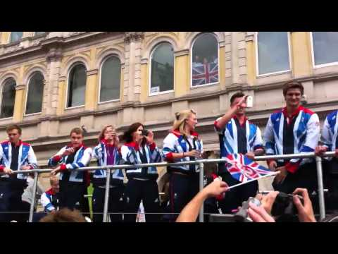 My London 2012 Experience - Our Greatest Team parade (Part 2)