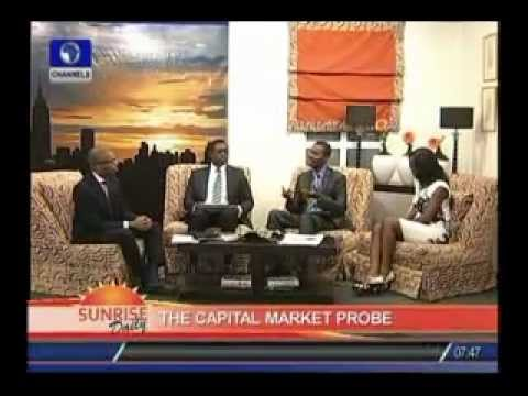 Capital Market probe with Chinua Azubuike