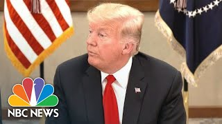 President Donald Trump Calls Arrests In Jamal Khashoggi Death A 'Big First Step' | NBC News - NBCNEWS