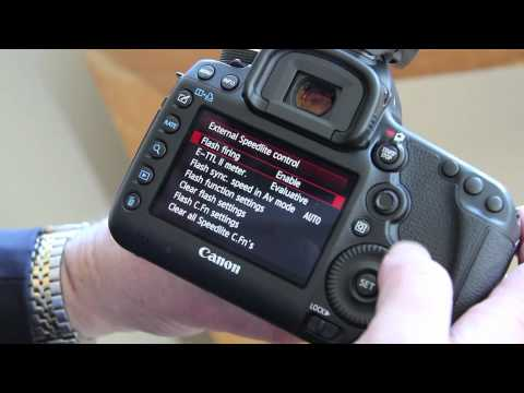 Canon 5D Mark III Review: Canon 600EX flash modes