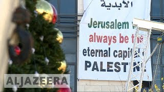 Trump's Jerusalem decision is spoiling Christmas for Bethlehem - ALJAZEERAENGLISH