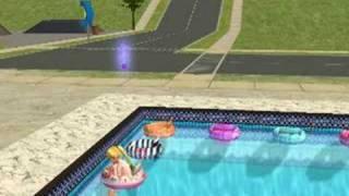 Toddler Swim Tube for Sims 2