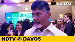 """This Is India's Davos"": Chandrababu Naidu - NDTV"
