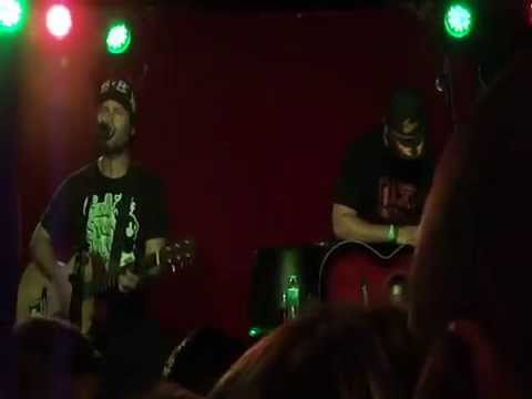 Tony Sly & Joey Cape - 27 July 2012 - Jacksonville, Florida (One of Tony's Last Shows)