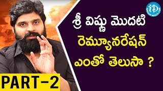 Thippara Meesam Hero Sree Vishnu Interview - Part #2 || Talking Movies With iDream - IDREAMMOVIES