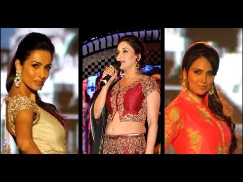 Madhuri, Malaika & Lara's HOT Ramp Walk