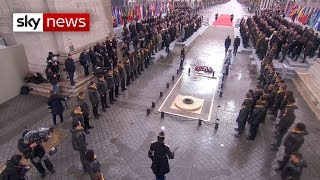 Armistice 100: How Europe remembered the fallen - SKYNEWS