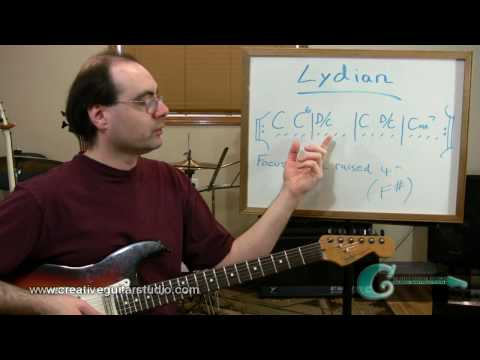 Lydian Mode: Part 2 - Modal Progressions