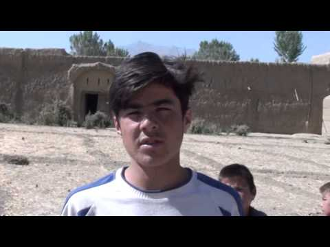 Bamiyan - Interview with young Hazara boy