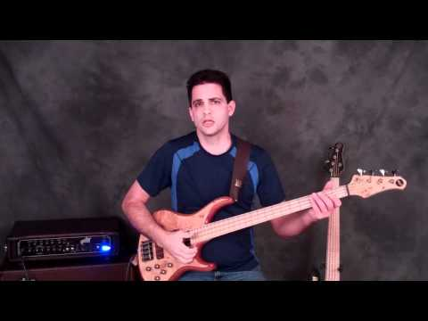 2-Minute Bass Lesson: Slap Groove #1