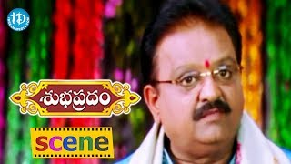 Subhapradam Movie Scenes - S. P. Balasubrahmanyam Fires On Allari Naresh || Manjari Phadnis - IDREAMMOVIES