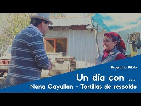 UN DÍA CON: Con la señora Nena Cayullan y sus ricas tortillas de rescoldo