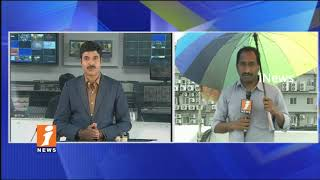 Sudden Climate Change in Hyderabad | Cloudy Atmosphere | iNews - INEWS