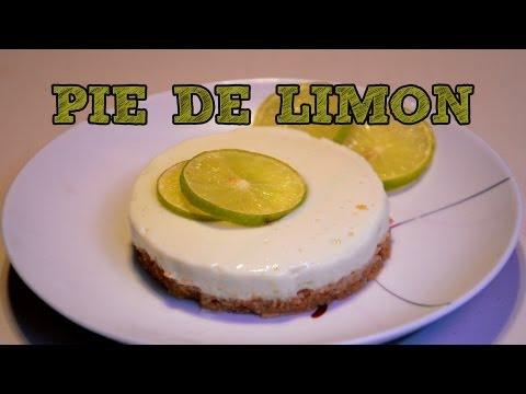 Pay de limon MUY FÁCIL SIN HORNO   Recetas de postres y cocina faciles   Pie de limón Fácil