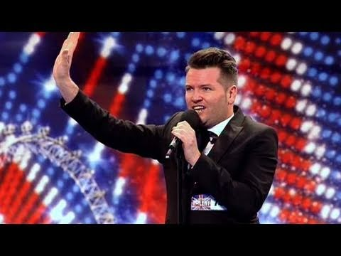 Edward Reid - Britain's Got Talent 2011 Audition