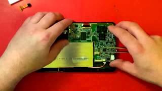 Tablet Prestigio Multipad 7.0 HD disassembly
