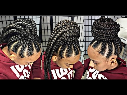 #238.  EZBRAID UPDO, how to