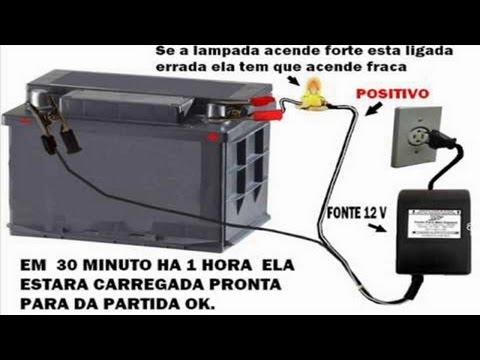 como fazer carregador de bateria com fonte 12v caseiro pc notebook impressora