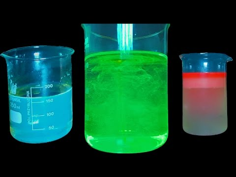 : How to make phosphorescent liquids !  -