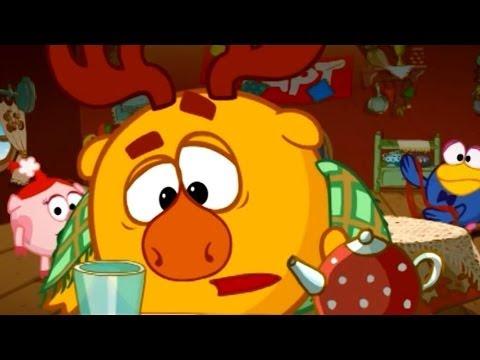 Кадр из мультфильма «Смешарики : На память»
