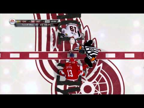 NHL13 Hockey: Awesome, Exciting Ending! Red Wings VS BlackHawks