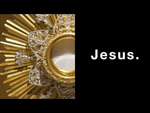 The Eucharist, The Holy Name of Jesus, and an Update
