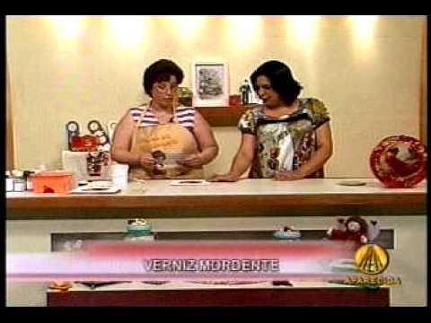 MINHA PRIMEIRA AULA DE ARTESANATO NA TV. PROGRAMA SABOR DE VIDA. TV APARECIDA. 1ª PARTE.