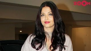 Aishwarya Rai Bachchan Not Happy With The Lyrics Of A Song From 'Fanne Khan'? - ZOOMDEKHO