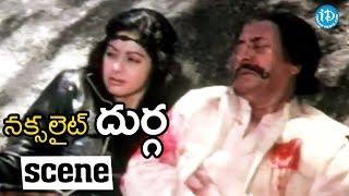 Naxalite Durga Movie Scenes - Police Shoots Badraiah || Sridevi, Kader Khan - IDREAMMOVIES