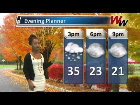 Tuesday December 10th, 2013 Afternoon Forecast