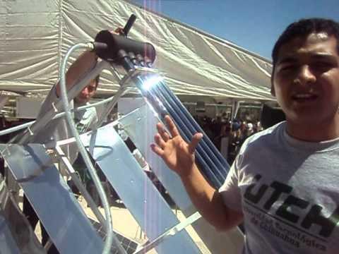 Proyecto de Concentrador Solar Inteligente