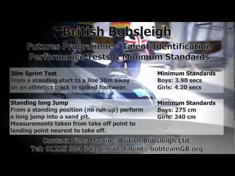 British Bobsleigh Futures Programme - Your chance to go for Gold at 90mph!