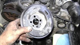 Motor VW 18 Lts Turbo 20 V Cambio De Banda Distribucion Change Timing Belt