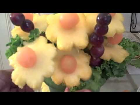 How to Make A Fruit Bouquet Great Gift Idea