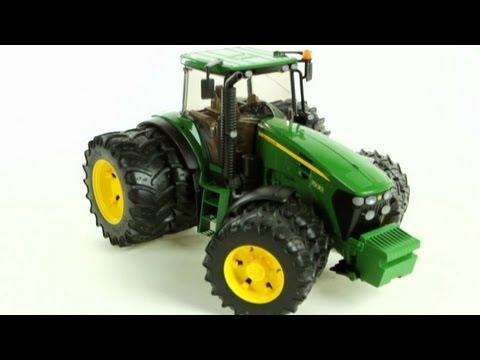 John Deere 7930 Tractor with Twin Tyres – Muffin Songs' Oyuncakları Tanıyalım
