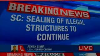 SC rules sealing drive against illegal constructions to continue - NEWSXLIVE